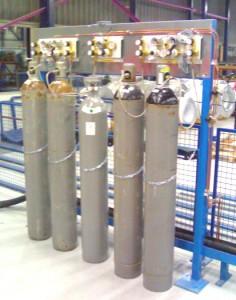 Enon Lasertechniek, speciaal cilinderreduceerstation resonatorgassen