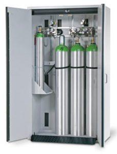 Gasflessenkast model G30.205.120, 1200x615x2050mm