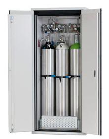 Gasflessenkast model G30.205.90, 900x615x2050mm