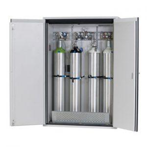 Gasflessenkast Model G90.205.140, 1400x615x2050mm