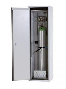 Gasflessenkast G90.205.60, 600x615x2050mm