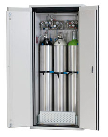 Gasflessenkast model G90.205.90, 900x615x2050mm